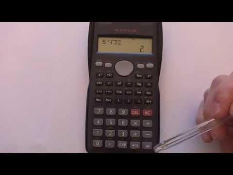 ¿Cómo usar la calculadora para calcular raíces? from YouTube · Duration:  2 minutes 21 seconds
