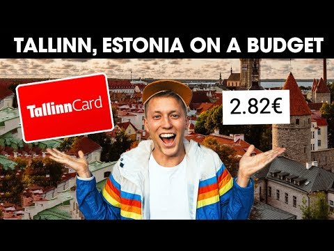HOW TO TRAVEL TALLINN ESTONIA ON A BUDGET
