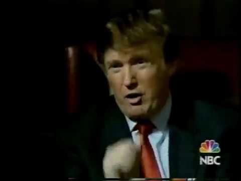 February 2004 - Donald Trump & Regis Philbin in 'Apprentice' Promo