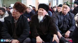 "ЖУМА БАЯН: ""Өмүр-Өлүм"" Абдишүкүр ажы Нарматов. 30.12.2016"