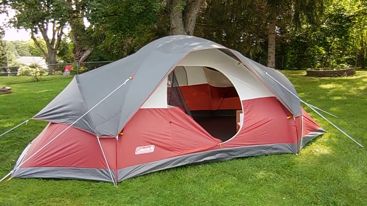 Coleman Red Canyon 8- The Widest Camping Tent For Your Extra Large Family