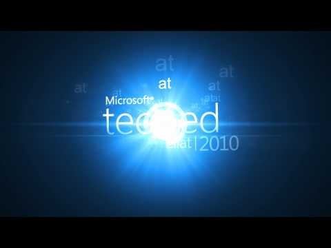 Microsoft TechEd 2010 - Private Cloud presentation opening