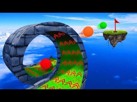 500MPH TURBO LOOPING CHALLENGE! (Golf It)