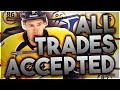 ACCEPTING ALL TRADES WITH THE NASHVILLE PREDATORS (NHL 18 FRANCHISE MODE CHALLENGE)
