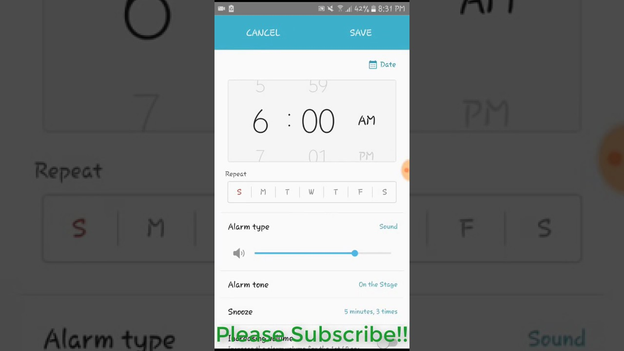How to Set Alarm Clock on Android Phone (Tutorial)