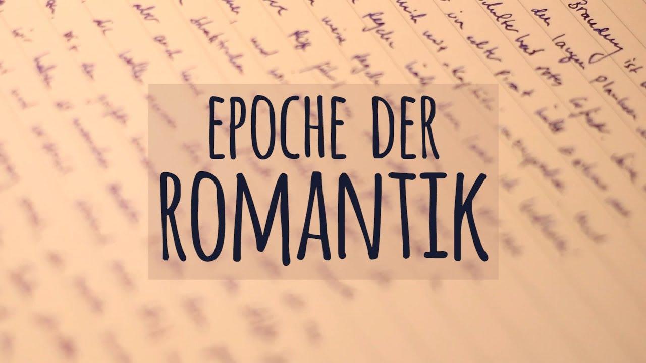 Romantik Einfach Erklärt Epoche Autoren Motive