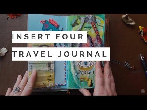 Insert Four of Latin America Midori Travel Art Journal - COMPLETED!