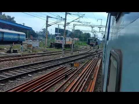 Vijayawada bza electric loco shed