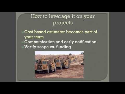Cost-Based Estimating Introduction