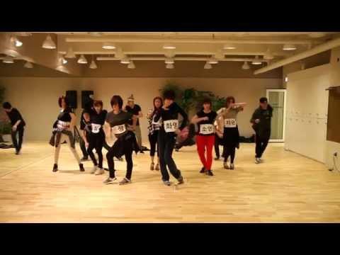 """T-ara luyện tập vũ đạo """"Cry cry"""""""