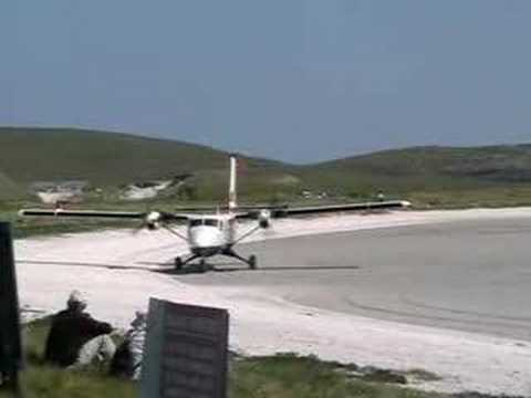 Barra Airport, Isle of Barra, Scotland