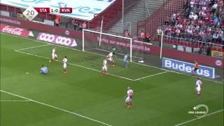 Standard Liege (4) vs (0) Kortrijk   Liga Belgica