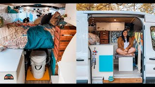 Downsizing Into A DIY 2018 Ford Transit Camper Van - Stealth Van Tour