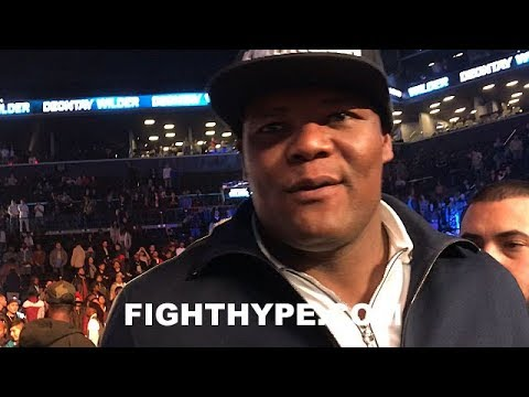 LUIS ORTIZ REACTS TO WILDER'S CRUSHING 1ST ROUND KNOCKOUT OF STIVERNE; CLARIFIES STATUS WITH WBC