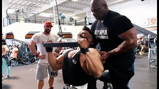 Download Video 3xB - Back to LA - Back to Gold´s gym - Back workout MP3 3GP MP4
