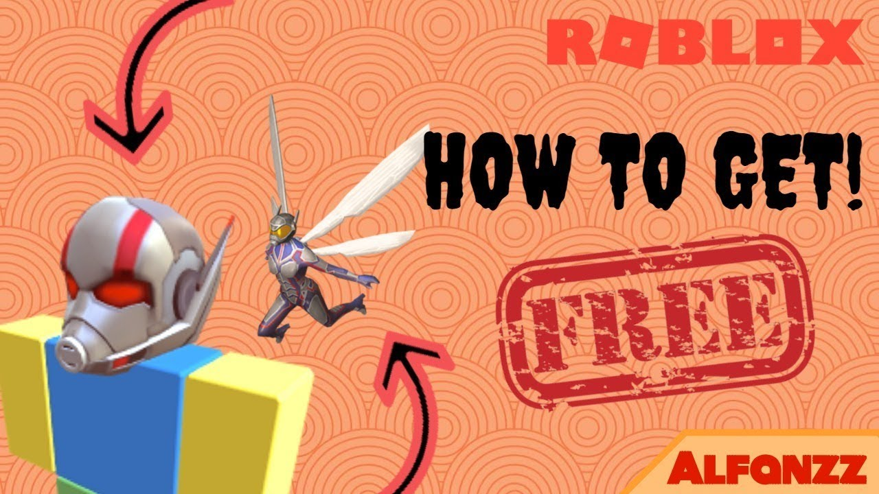 How To Get Ant Man Helmet And The Wasp For Free On Roblox Youtube