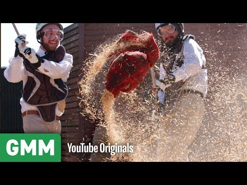 Download Youtube: Destroying A Scarecrow in a Wood Chipper | What Was This?
