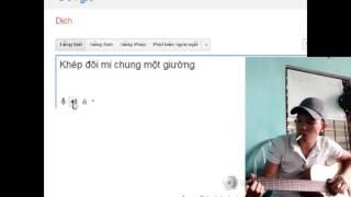 Bản cover guitar và giọng hát chị google translate quá hay