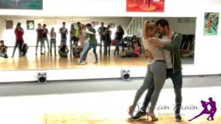 Cover images Tanzschule Salsa con Pasion - Bachata Sensual Kiko & Christina / Daniel Santacruz - Si digo te amo