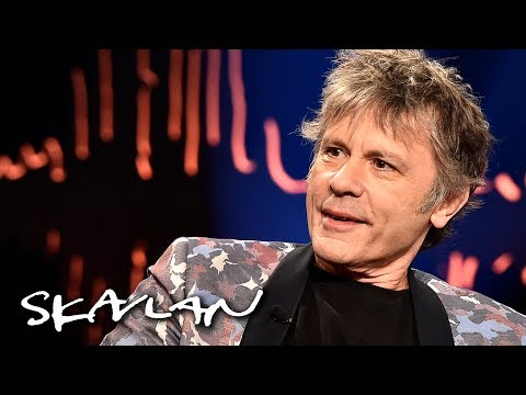 Bruce Dickinson found out he had throat cancer via Google | Skavlan