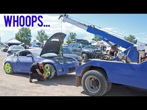 Wrecked my No Coast Drift Car...