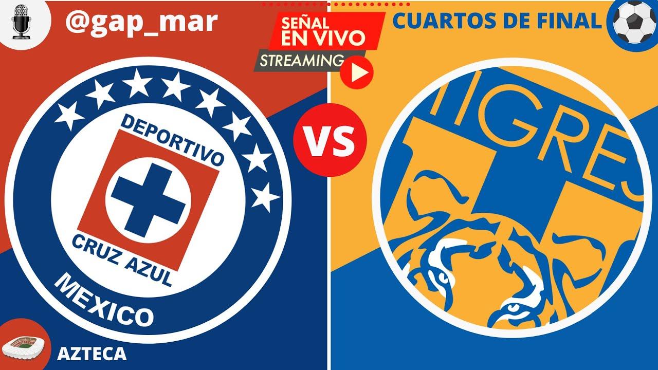 CRUZ AZUL VS TIGRES  ¡¡EN VIVO CUARTOS DE FINAL VUELTA GUARDIANES 2020 LIGA MX!! (NARRACIÓN RADIO)