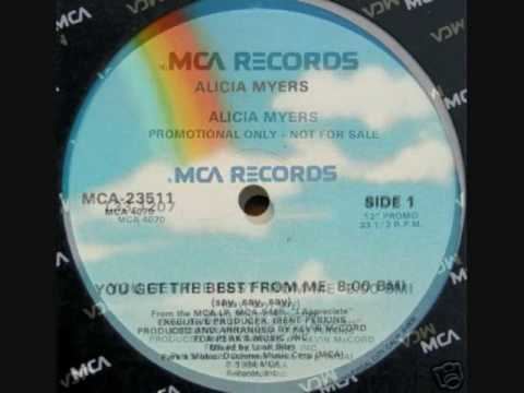 Alicia Myers - You Get the Best from Me (Say, Say, Say) (Extended Version)