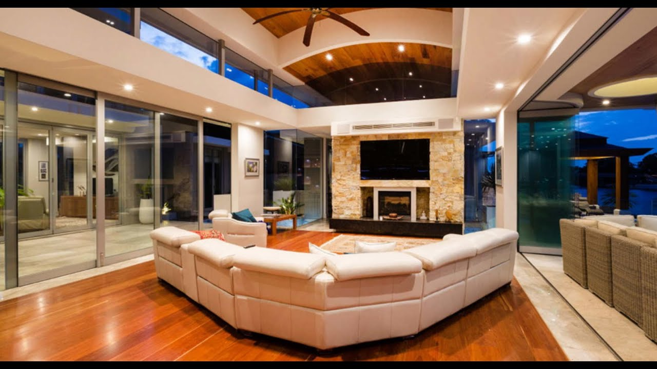 Decoracin de casas decoracin de interiores hogares pequeos grandes modernos  YouTube