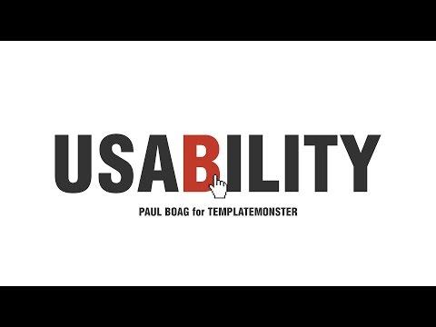 Website Usability. Paul Boag