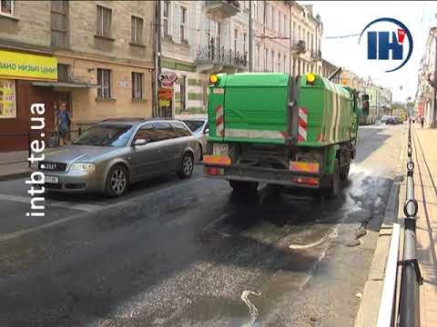 Телеканал ІНТБ: 50 тисяч літрів води щодня виливають на дороги Тернополя
