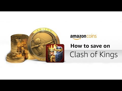 Amazon Coins Tutorial *save Money* - Clash Of Kings