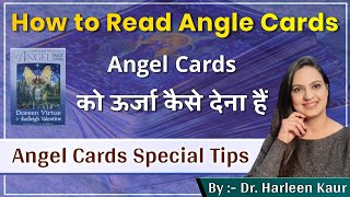 Angel Cards || How to read angel cards || How to charge Angel cards with Your E