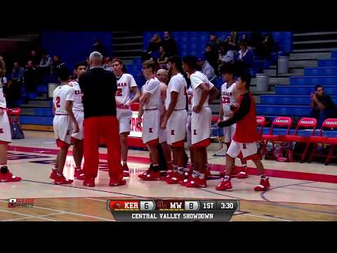 Kerman vs Mt. Whitney High School Boys Basketball LIVE 1/5/19