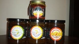 "Suzanne's Kitchen Pepper Jelly ""hell (hot) And Ghost (scary Hot)""  Review"