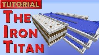 The Iron Titan - Minecraft Iron Golem Farm - 2600 Iron/hr (Works in 1.13)