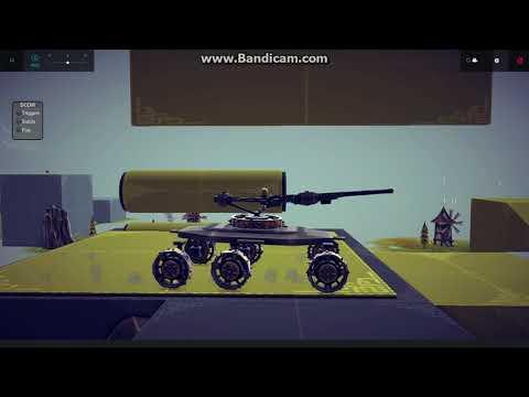 Tank Vertical stabilizer in Besiege