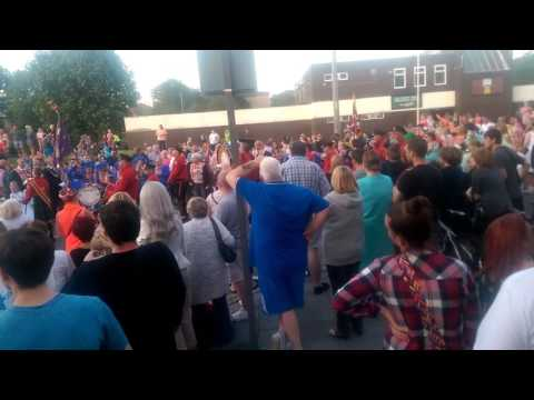 Star of Toxteth home coming 12/07/17 3 - The Sash