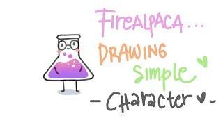 Firealpaca Tutorial : Draẁing Simple Chemistry Lab Tube