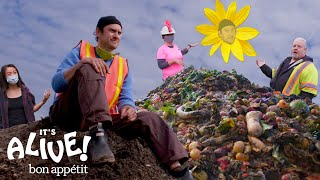 Brad Learns How to Compost | It's Alive | Bon Appétit