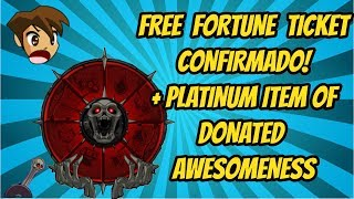 [AQW] Free Fortune Ticket + Upgrade Bonus + Set Sazonal (contém memes)