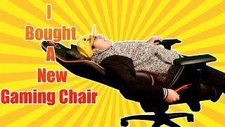 My new Gaming chair [How I got my gaming chair] Surprised