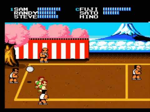 Nintendo (NES) Dodge Ball