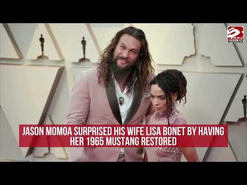 Jason Momoa surprises Lisa Bonet by restoring her Mustang