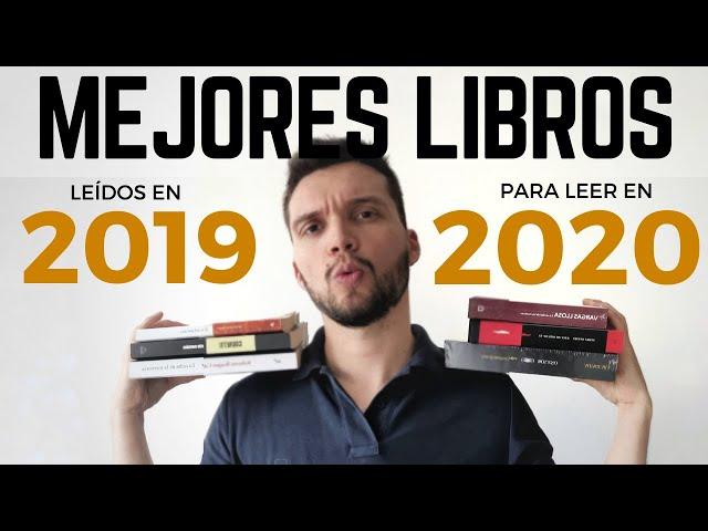 6 libros RECOMENDADOS para LEER en 2020 [Mejores lecturas 2019]