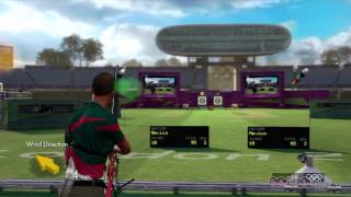 London 2012 - Men's Triple Jump and Women's Archery Gameplay (Xbox 360)