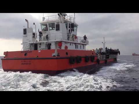 46.00m Oil Separation Barge