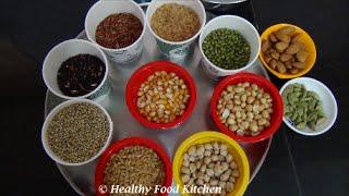 How to prepare Sathu Maavu Recipe-Healthy Malt Mix Recipe -Sathu Maavu Recipe in Tamil