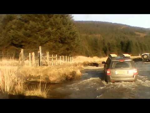 off roading 4x4 day west Wales