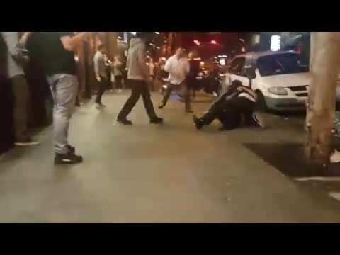 3 vs 2 Fight Downtown San Jose, CA MUST SEE OUTCOME