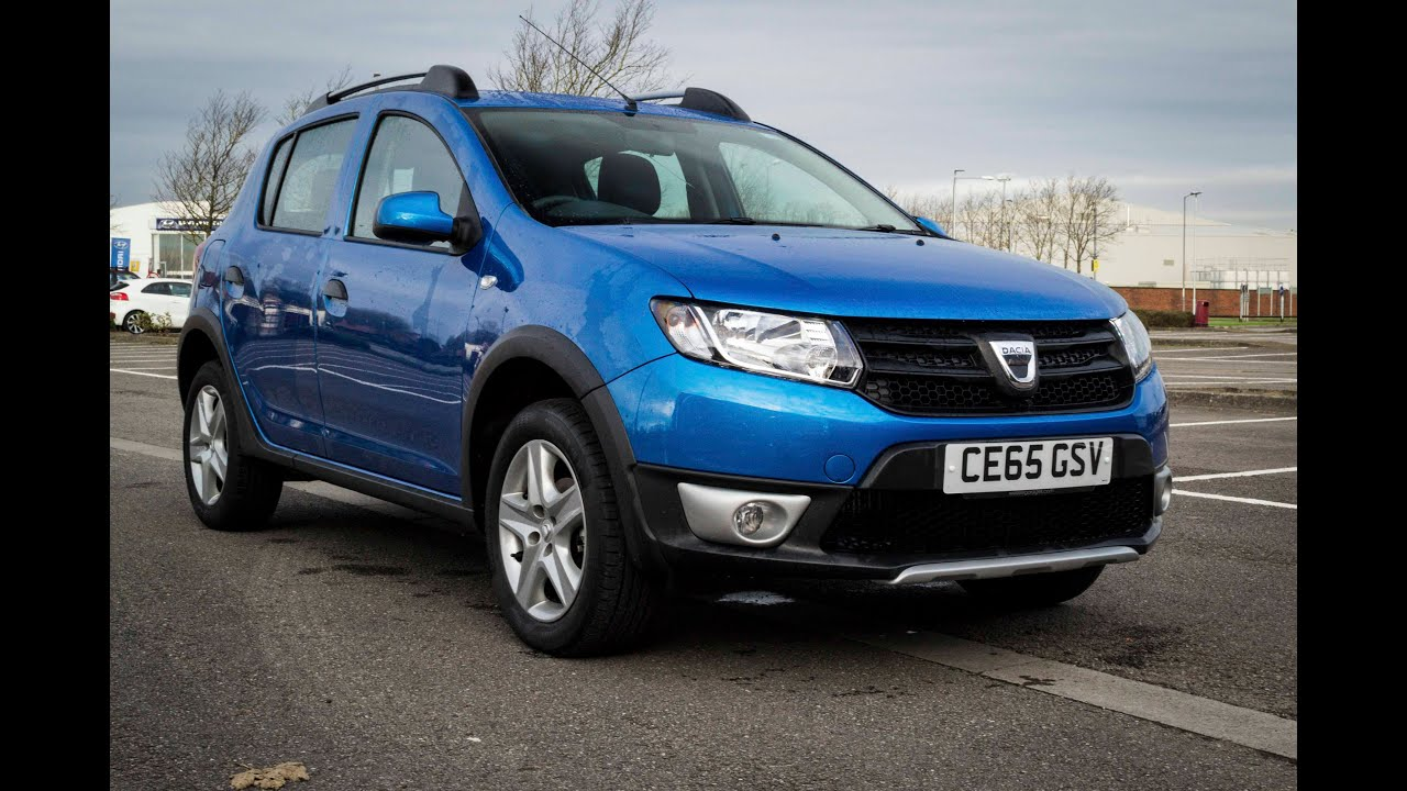 wessex garages newport used dacia sandero stepway ambiance dci petrol manual ce65gsv youtube. Black Bedroom Furniture Sets. Home Design Ideas